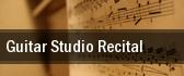 Guitar Studio Recital Plaza Del Sol Performance Hall tickets