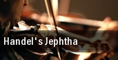 Handel's Jephtha tickets