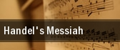 Handel's Messiah Mechanics Hall tickets
