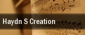 Haydn's Creation Kleinhans Music Hall tickets