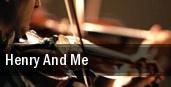 Henry And Me Boettcher Concert Hall tickets