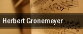 Herbert Gronemeyer New York tickets