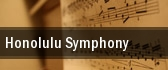 Honolulu Symphony Neal S. Blaisdell Center tickets