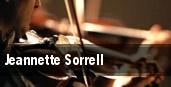 Jeannette Sorrell tickets