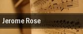 Jerome Rose Denver tickets