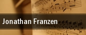Jonathan Franzen tickets