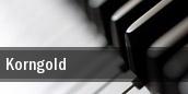 Korngold New York tickets