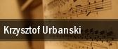 Krzysztof Urbanski tickets