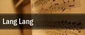 Lang Lang Vorderfager tickets