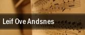 Leif Ove Andsnes New York tickets