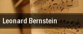 Leonard Bernstein tickets