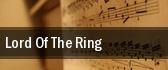 Lord of 'The Ring' Schermerhorn Symphony Center tickets