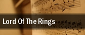 Lord Of The Rings Sacramento tickets
