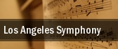Los Angeles Symphony tickets