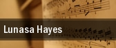 Lunasa Hayes tickets