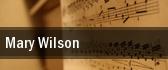 Mary Wilson New Theatre tickets
