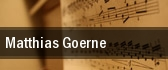 Matthias Goerne tickets