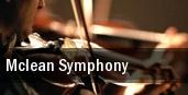Mclean Symphony Alden Theatre tickets