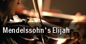 Mendelssohn's Elijah tickets
