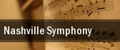 Nashville Symphony Schermerhorn Symphony Center tickets