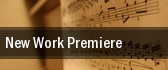 New Work Premiere Carnegie Hall tickets