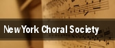New York Choral Society tickets