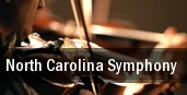 North Carolina Symphony Duke Energy Center for the Performing Arts tickets