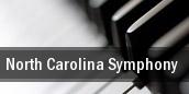 North Carolina Symphony Robert E Lee Auditorium tickets