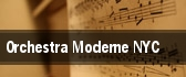 Orchestra Moderne NYC tickets