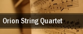 Orion String Quartet Jordan Hall tickets