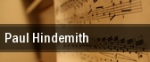 Paul Hindemith tickets