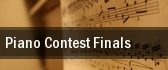 Piano Contest Finals Princeton tickets