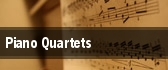 Piano Quartets tickets