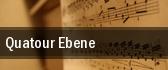 Quatour Ebene tickets