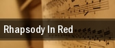Rhapsody in Red tickets