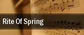 Rite Of Spring Adler Theatre tickets