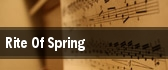 Rite Of Spring Thomas Wolfe Auditorium at U.S. Cellular Center tickets