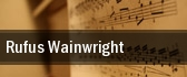 Rufus Wainwright Fitzgerald Theater tickets