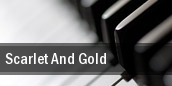Scarlet And Gold London tickets