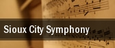 Sioux City Symphony Sioux City tickets