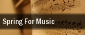 Spring For Music New York tickets