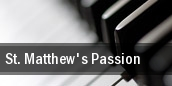 St. Matthew's Passion tickets