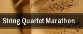 String Quartet Marathon Lenox tickets