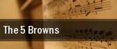 The 5 Browns Chautauqua Institution Amphitheater tickets