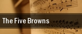 The Five Browns Austin tickets