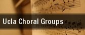 UCLA Choral Groups tickets