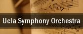 UCLA Symphony Orchestra Schoenberg Hall tickets