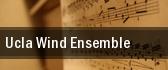 UCLA Wind Ensemble Schoenberg Hall tickets