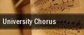 University Chorus tickets