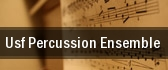 USF Percussion Ensemble USF Theatre 2 tickets